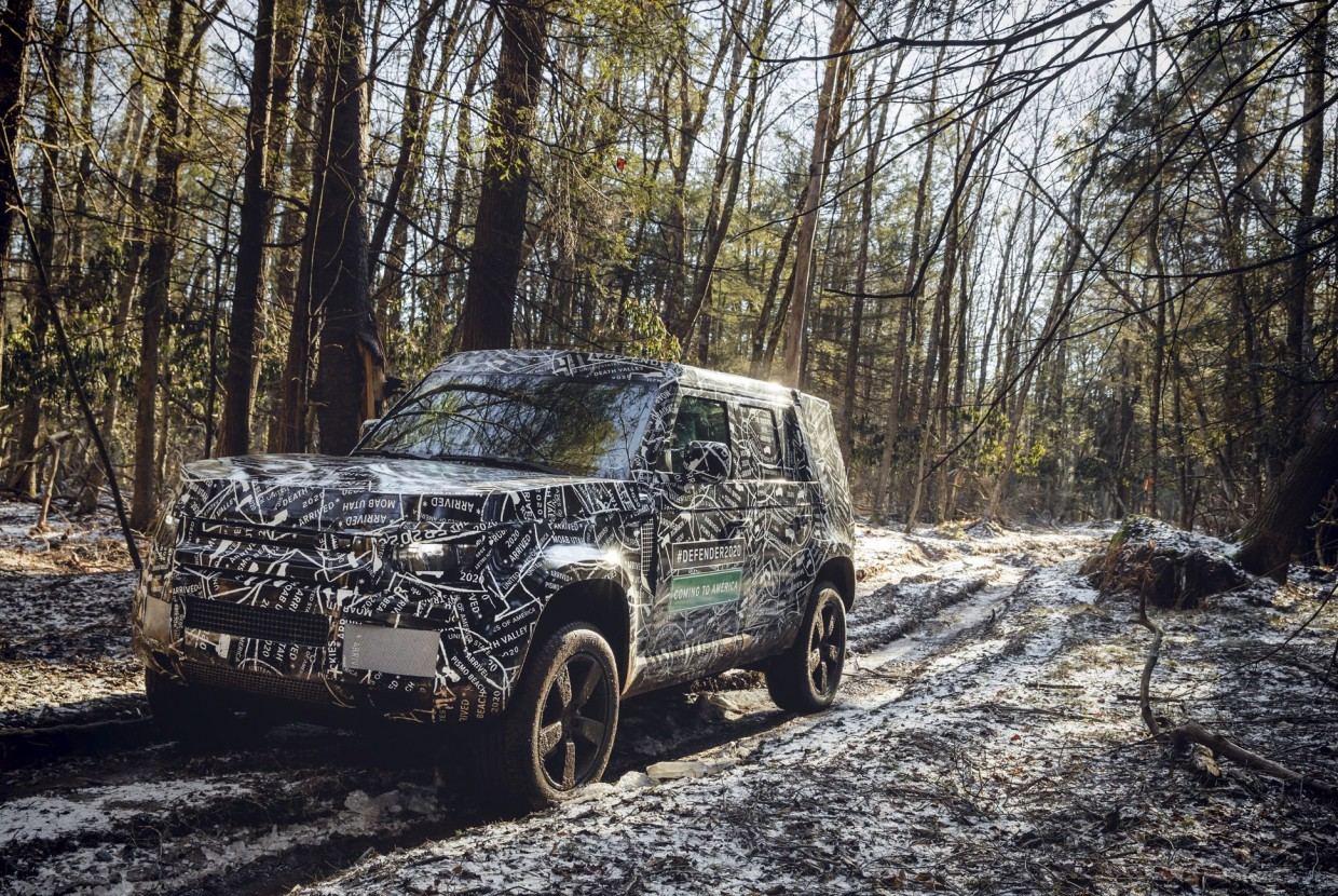 New Land Rover Defender.....Coming Soon!