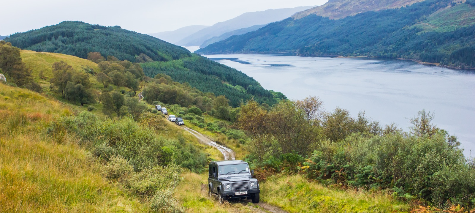 Private Loch Lomond Own 4x4 Experience